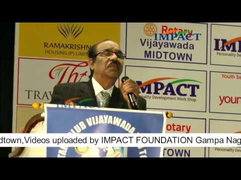 Self Motivation|BV Pattabhiram|TELUGU IMPACT Vijayawada 2016