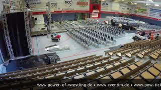 Info |P.O.W | Die Arena entsteht in der OSPA ARENA