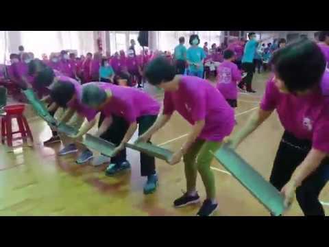 109年白河區青銀樂活趣味運動會-競賽活動-水管接球