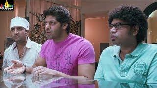 Crazy Movie Scenes | Arya and Santhanam Comedy | Latest Telugu Movie Scenes | Sri Balaji Video