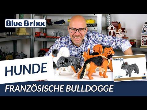 French Bulldog, dog (diamond blocks)
