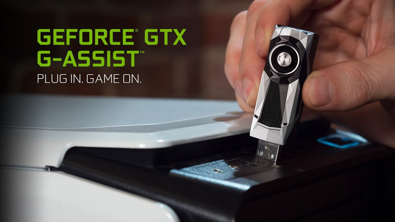 You Can Get A Nvidia GeForce GTX USB Thumb Drive
