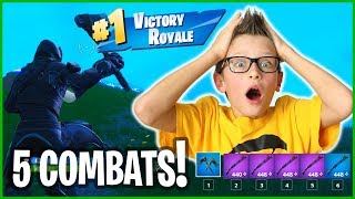 WINNING WITH ONLY COMBATS!!!