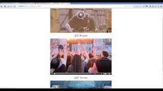 Создание видеохостинга в программе WebSiteCollect