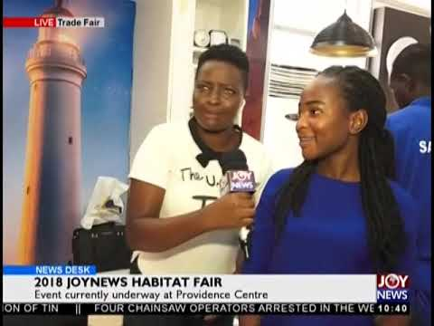 2018 JoyNews Habitat Fair - News Desk on JoyNews (21-9-18)