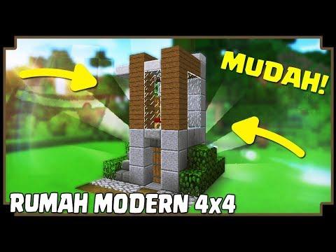Video Cara Membuat Rumah Modern Sederhana Minecraft Indonesia Mp3