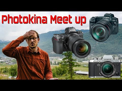 Canon EOS R vs Nikon Z & Fuji XT3 & Photokina Meet-Up