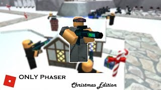 Bringing ONLY Phaser to Christmas Event   Tower Battles [ROBLOX]