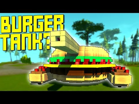 """We Searched """"Food"""" on the Workshop and Got Hungry  - Scrap Mechanic Workshop Hunters"""