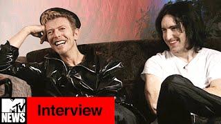 David Bowie & <b>Trent Reznor</b> 1995 Interview With Kurt Loder  MTV News