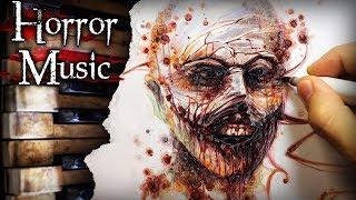 No Outline Art CHALLENGE! (Horror Music Edition)