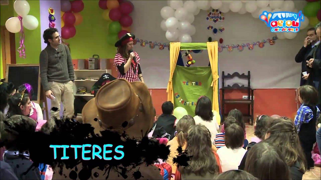 Animació de festes infantils a Barcelona a domicili aniversaris pallassos mags