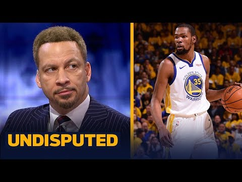 Chris Broussard thinks Steph Curry's dominance is a factor in KD's potential exit | NBA | UNDISPUTED