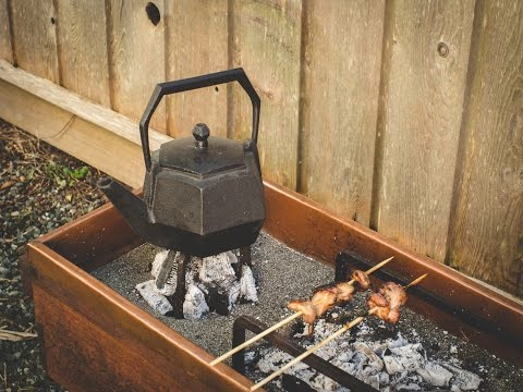 Edo Style Hibachi and fire tools – Japanese Charcoal Barbeque & Tea