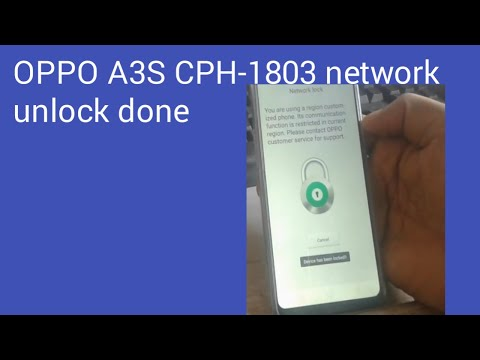 World Fast Test Results Video Oppo Realme 2 RMX1805 Network Unlock