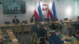Wideo: Komisja Administracji i Spraw Wewnętrznych ws. śmierci Bartosza Sokołowskiego