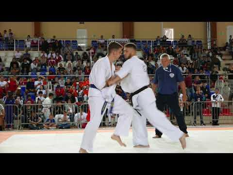 Kyokushin Karate KWF 32nd European championship Kaliningrad, Russia. Jan Horn Netherlands.