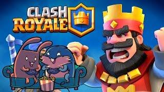 """Clash Royale """"Принц тащит!"""" с Леммингом и Банзайцем"""