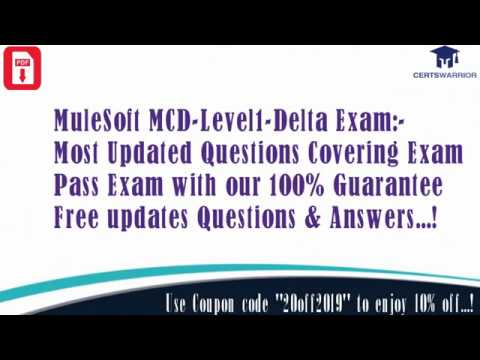 Preparation For #Mulesoft Certification Exam #MCD ... - YouTube