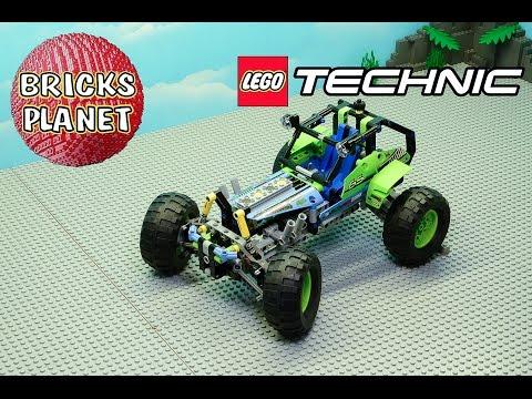 Vidéo LEGO Technic 42037 : Le buggy tout-terrain