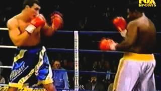 Первый нокдаун Кличко в профи | Владимир Кличко vs Стив Пеннелл