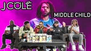 The Real is Back! J. Cole - Middle Child Official Audio Reaction/Review