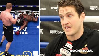 """IT WOULD'VE KO'd A RHINO!"" SHANE McGUIGAN REACTS TO WHYTE KO LOSS TO POVETKIN & CAMPBELL-GARCIA"