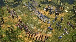 Age of Empires III - Multiplayer Gameplay #01 [Deutsch/HD] 1vs1vs1