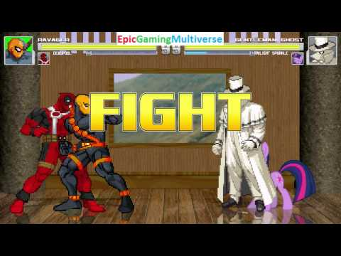 Deadpool And Ravager VS Mr  Incredible And Twilight Sparkle