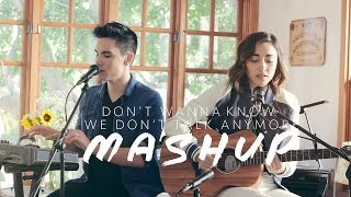 Don't Wanna Know/We Don't Talk Anymore MASHUP - Sam Tsui  Alex G | Sam Tsui