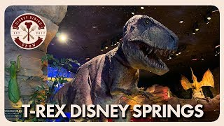 T-Rex Cafe at Disney Springs | Disney Dining Show | 07/19/19