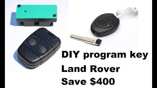 DIY. How to program Land Rover Discovery Key Fob Without Taking it to a dealer.