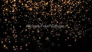 sparkle particles overlay, golden particles bounce background, sparkle overlay effects, Gold overlay