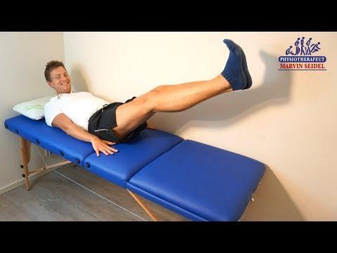3 Lymphödem Übungen für Wasser in den Beinen! (Geschwollene Beine Übungen)