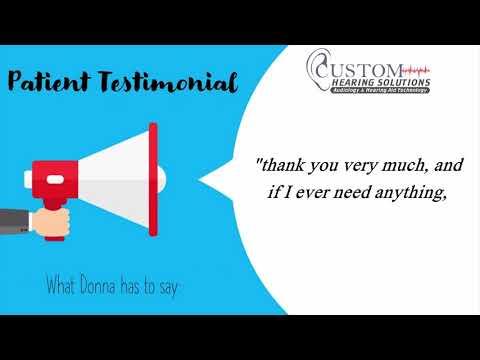 Free Emergency Hearing Clinic Testimonial