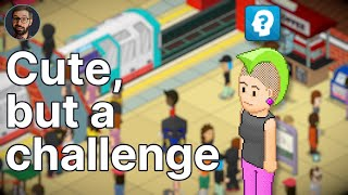 Youtube thumbnail for Overcrowd: A Commute 'Em Up  Review | Difficult subway management