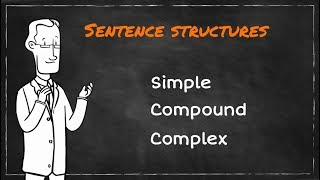Simple, Compound, Complex Sentences | Learning English