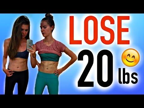 Video LOSE 20 POUNDS IN 21 DAYS | NinaAndRanda