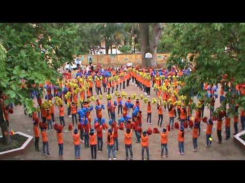 Clip vũ khúc sân trường do học sinh Trường TH Cảnh thuy trình bày.