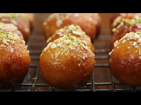 Indian Fried Doughnuts (Gulab Jamun)