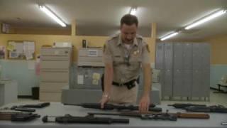 Little Britain USA- Sheriff gun lesson