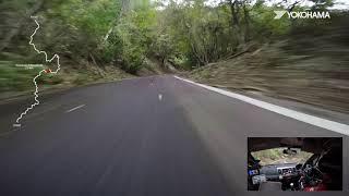 ADVAN - PIAA LANCER Evo X Onboard Footage 2018 JRC SHINSHIRO RALLY