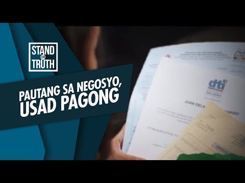 [GMA]  Stand for Truth: Pautang ng gobyerno, usad pagong bago maaprubahan?