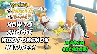 How to Fix Wild Pokemon's Natures in Pokemon: Let's Go, Pikachu and Eevee! How to Use Madam Celadon