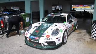 Porsche Challenge and FARA Miami 500 Racing 2018