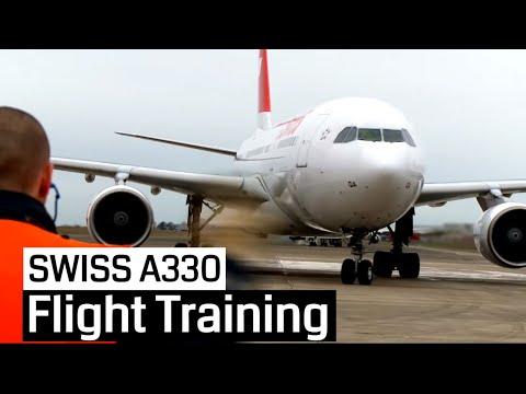 SWISS Training Airbus A330-200 (Cockpit)
