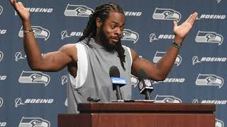 Richard Sherman on incident Michael Bennett had with Las Vegas police