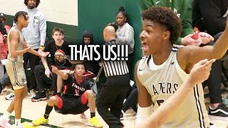 Bronny James CRAZY Semi Final BATTLE! BJ Boston CATCHES FIRE & DROPS 31 Points