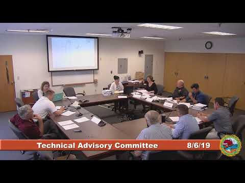 Technical Advisory Committee 8.6.2019