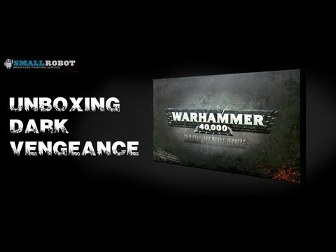 Warhammer 40K : Dark vengeance - New starter set unboxing